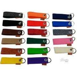 Schlüsselanhänger Anhänger für Schlüssel, Band aus Filz, Filzband, Schlüsselband