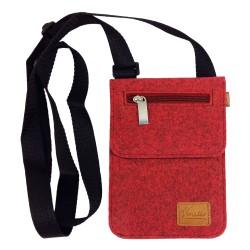 Kleine Umhängetasche Schultertasche Handtasche Damentasche Brusttasche Herren-Tasche Unisex