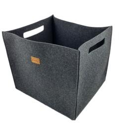 3-er Set Große Box Filzbox Aufbewahrungskiste Aufbewahrungsbox Kiste für Allelei
