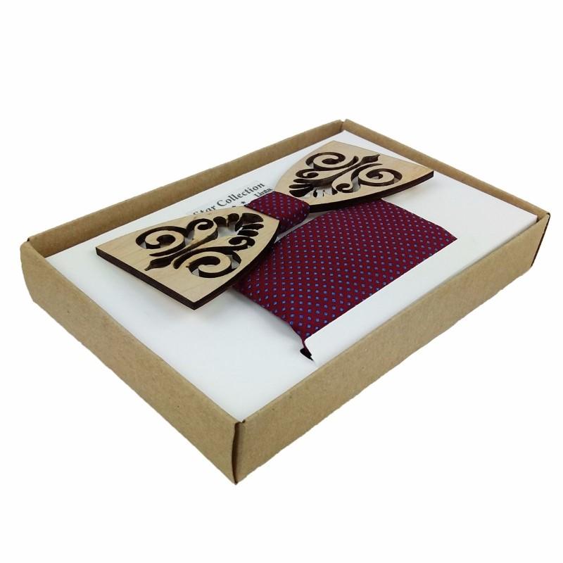venetto handgemacht holzfliege herrenfliege aus holz mit. Black Bedroom Furniture Sets. Home Design Ideas