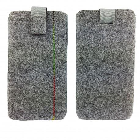Tasche Hülle für Smartphone aus Filz