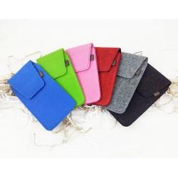 "5.0 - 6.4 "" Vertical Bellow Case Cross Strap Belt Case Bag for Trouser belt Cover Smartphone for iPhone 8, X, Samsung S8 +"