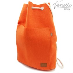 Venetto sports backpack made of felt for sports, soccer, school, hiking shoe backpack unisex