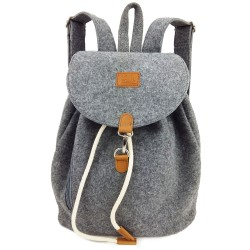 Venetto backpack bag made of felt unisex handmade