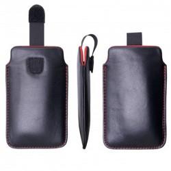 Echtleder Etui Leder Tasche Hülle  Schutzhülle für iPhone X, 8, 8 Plus, Samsung S7, S8, S8+
