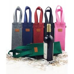 Geschenktasche Flaschentasche Weintasche Tasche für Wein Weinflasche Präsenttasche & Tragetaschen