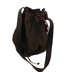 Duffle Bag Shoulder Bag Handbag Mens Bag Leather Cotton Bag Unisex