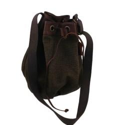 Duffle Bag Shoulder Bag Handbag Mens Bag Leather Cotton Bag Unisex