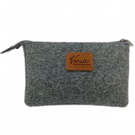 Banktasche Geldtasche für Banknoten Belege Täschchen Mini Hülle Tasche für Zubehör ( PC Maus, E-Zigarette, Kulturtasche)