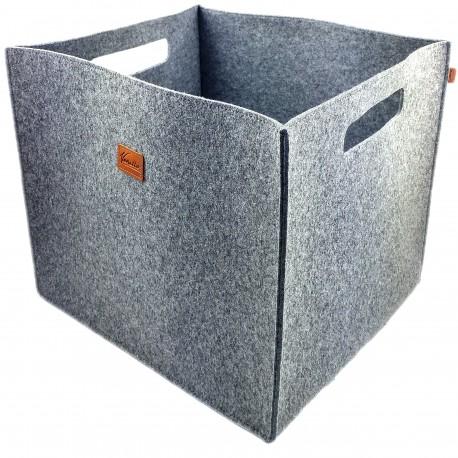 Große Box Filzbox Aufbewahrungskiste Aufbewahrungsbox Kiste für Allelei