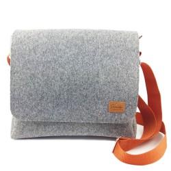 """Herrentasche Umhängetasche Freizeit Schultertasche Handtasche Tasche Herren mit Leder-Applikationen für 13"""" MacBook, Notebook"""
