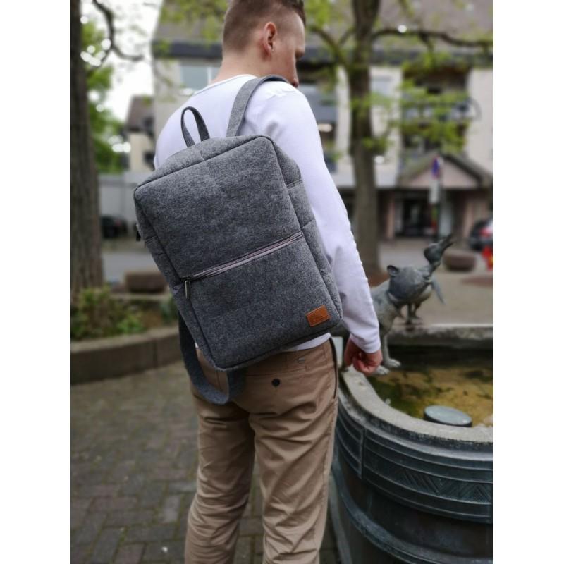 Venetto Backpack Tasche Rucksack Aus Filz F 252 R 13 Quot Macbook