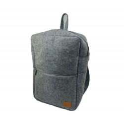 """Venetto Rucksack Tasche aus Filz unisex handgemacht für MacBook 13.3"""", iPad Pro 12.9"""", Surface, Laptop"""