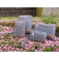 Venetto Brieftasche aus Filz handgemacht für Dokumente, Reise