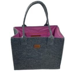Double color Shopper Damentasche Handtasche Einkaufstasche Shopping bag für Damen
