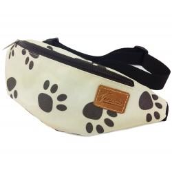 Leckerli-Tasche Hundetapsen Pfoten Gürteltasche Bauchtasche Wandertasche Tasche für Gassi gehen, Hundetraining Leckerli Futter