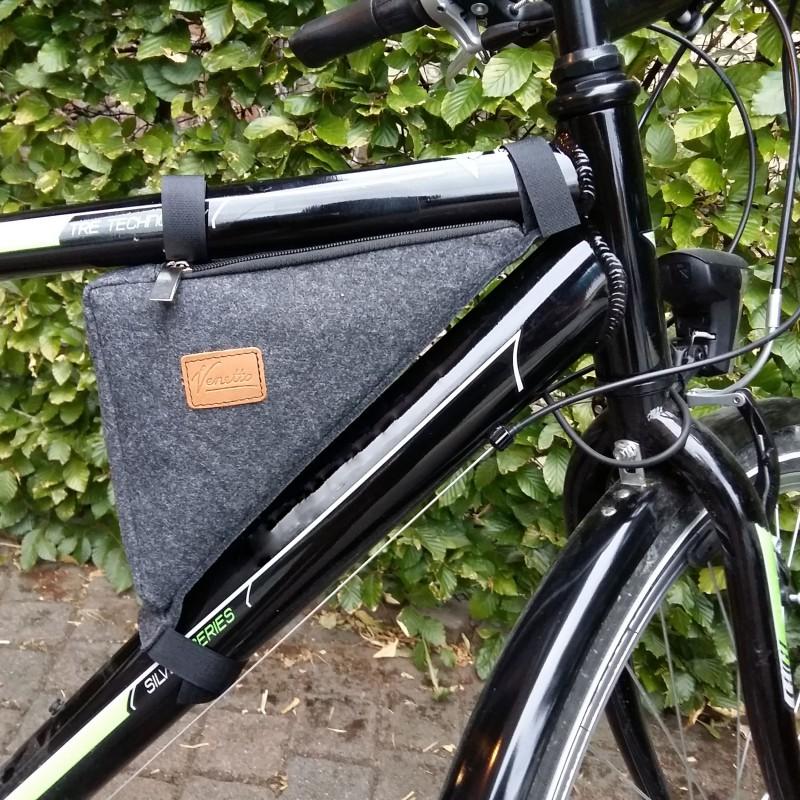 Venetto Fahrradtasche Tasche für Fahrradrahmen Zubehör,Fahrradtour
