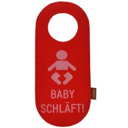 Felt Doorplate Door Hanger Reversing Shield Doorplate Baby schläft