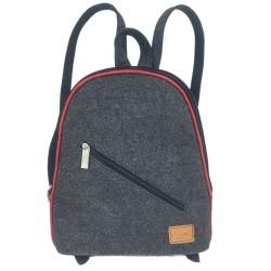 Venetto Mini Rucksack Tasche aus Filz Filzrucksack klein unisex handgemacht