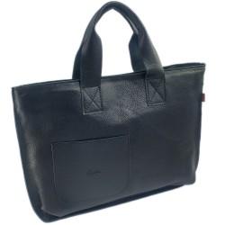 Ledertasche aus Elch-Leder Shopper Damentasche Handtasche Einkaufstasche Shopping bag für Damen