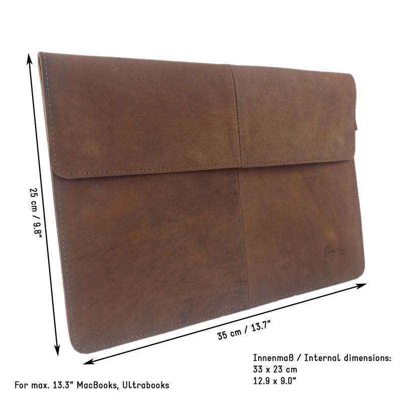 Venetto 10 2 14 0 Zoll Leder H 252 Lle Sleeve Macbook