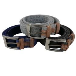 Belt made of felt, felt belt