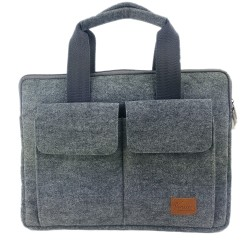 17,3 Zoll Handtasche Aktentasche Tasche Schutzhülle Schutztasche für MacBook / Air / Pro, iPad Pro, Surface, Laptop,  Notebook