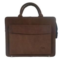 Ledertasche Businesstasche Handtasche Dokumententasche Aktentasche Handtasche Tasche Damen Nubuk Leder