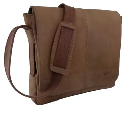 Ledertasche Businesstasche Umhängetasche Dokumententasche Aktentasche Handtasche Tasche Herren Damen Nubuk-Leder