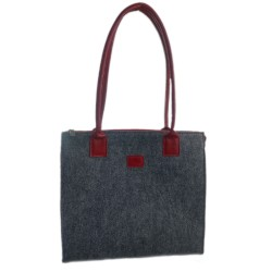 Double Color Shopper Women's Handbag Tote Bag Shopping Bag for Women