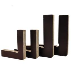 4 Stück Set Eck-Klemme 90° Winkel, Spanner, Schablone, Verleimhilfe für Bilderrahmen, Kästen, Schränke oder Schubladen aus Holz
