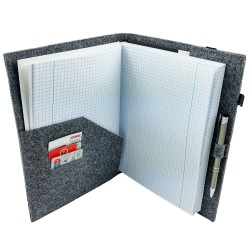 DIN A4  Einband Zeichenmappe, Bucheinband, Hefteinband für Kalender Notizbuch Schulheft