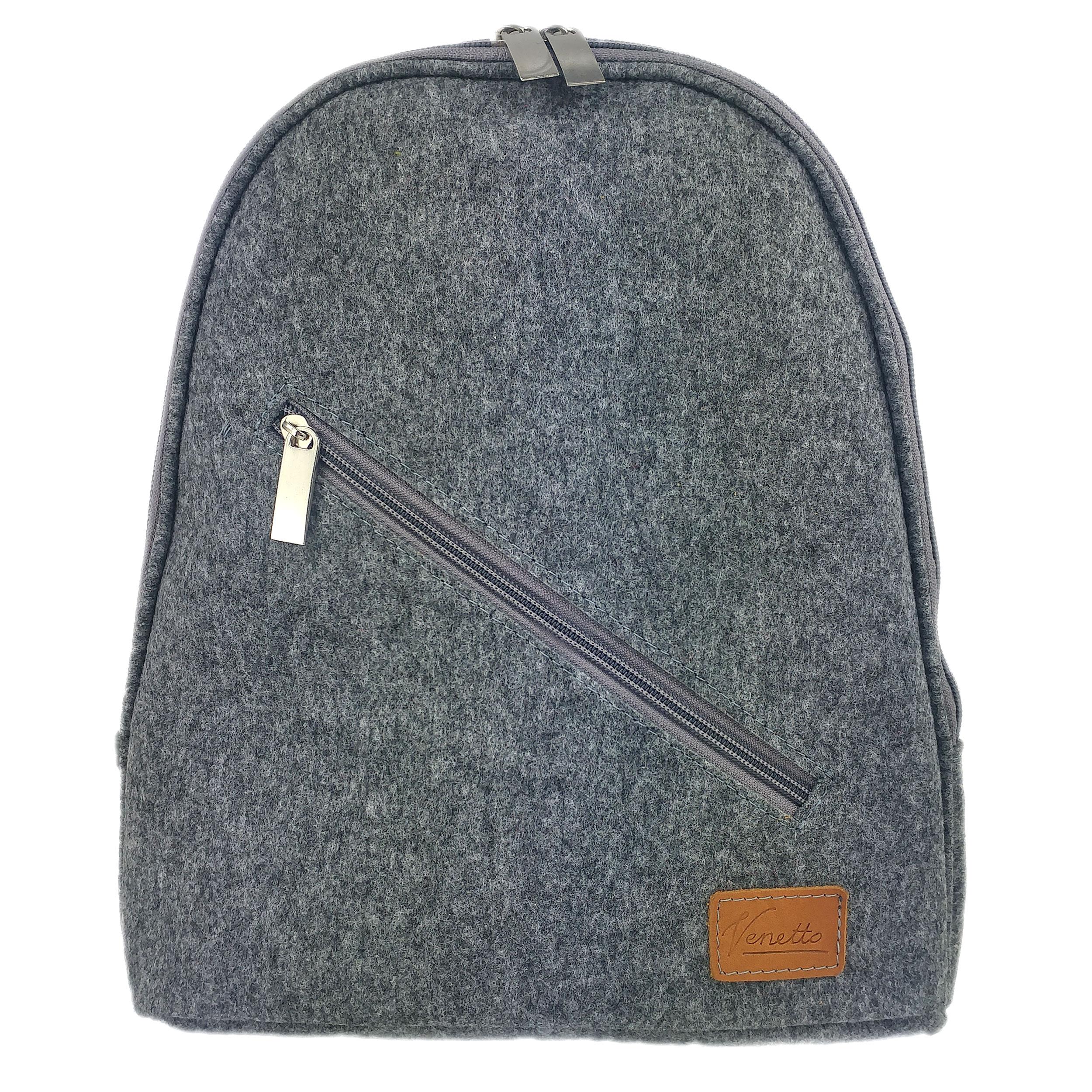 Rucksack aus Filz. Hersteller.