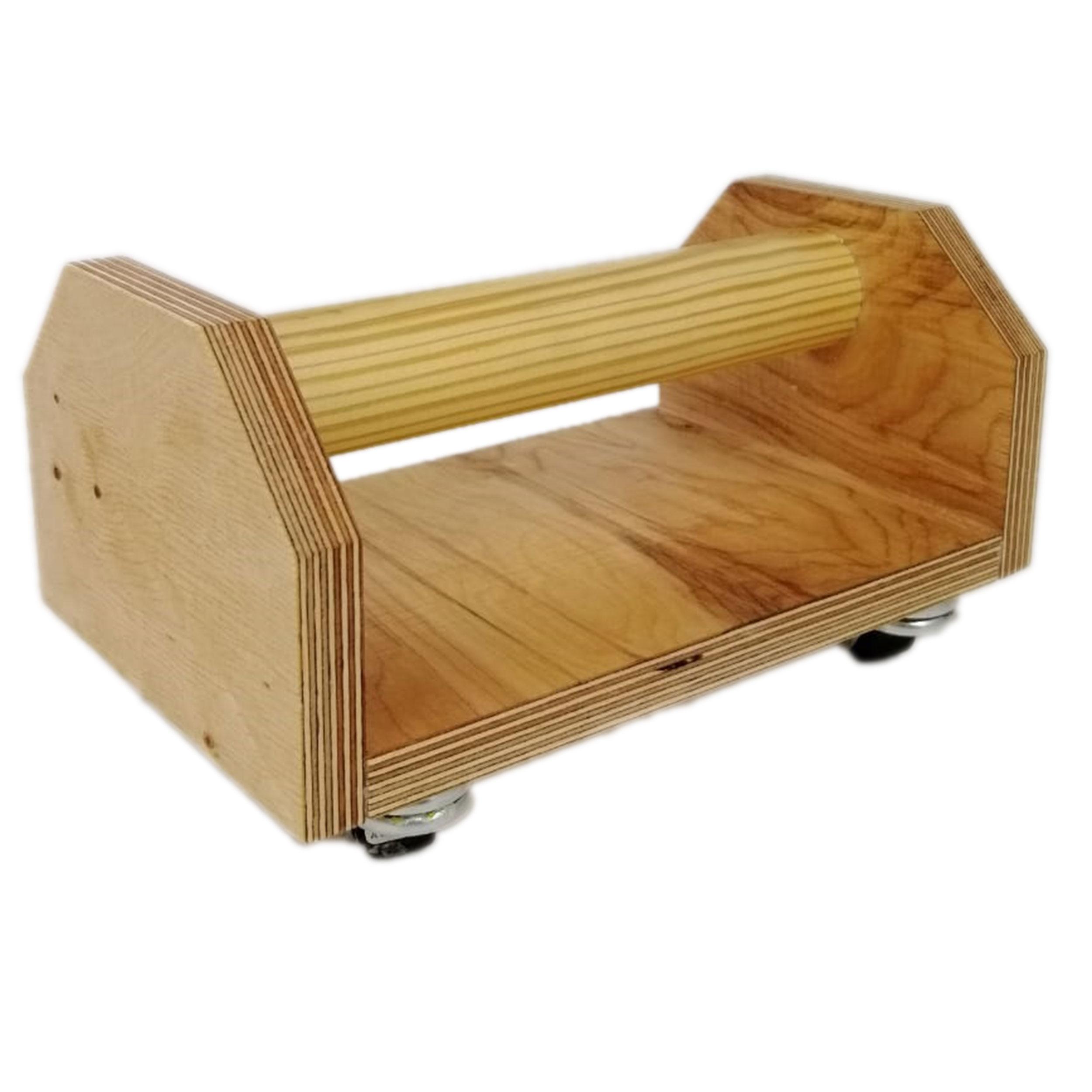 Venetto Liegestützgriffe aus Holz mit oder ohne Rollen