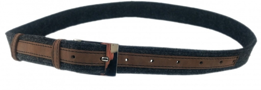 Venetto manufacturer of belts made of felt and leather. Made in Germany.
