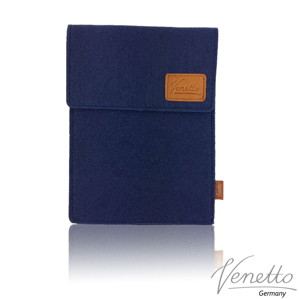 Kindle-Tasche-Filz-Blau-dunkel-1